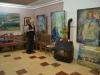 Василије Терзић у својој галерији