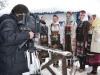 Са снимања ТВ емисије Злакуса у снежном руху за сателитски програм РТС-а