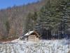 Ловачка кућа у Злакуси у изградњи