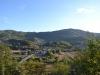 Панорамски поглед на обронке Градине и централни део села