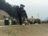 Подизање споменика стрељањим и обешеним мештанима Злакусе