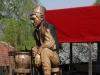 Споменик злакушким грнчарима у Етно парку Терзића авлија