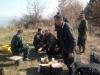Чланови ловачке секције Злакуас у предаху лова