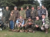 Чланови ловачке секције Злакуса са уловом