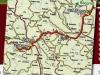 Карта доласка у Злакусу из правца Београда