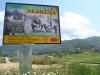 Место искључења са магистрале из правца Златибора и Ужица