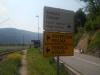 Путоказ пред искључење са магистрале из правца Београда
